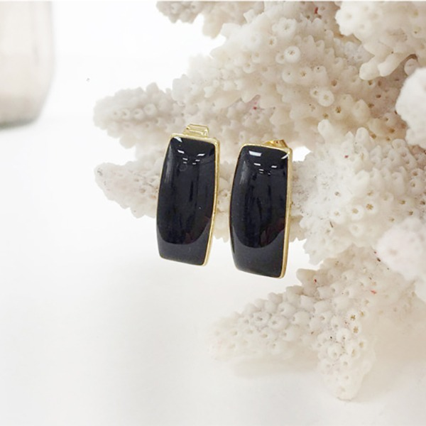Black chic Earring #524